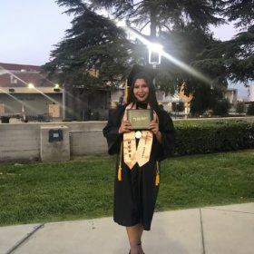 Kimberly Mejia from Cal Poly Pomona