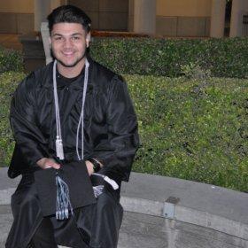 Anthony Serrano from CSU San Bernardino